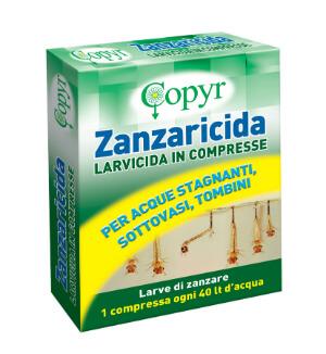 LARVICIDA ZANZARE COMPRESSE 1870020