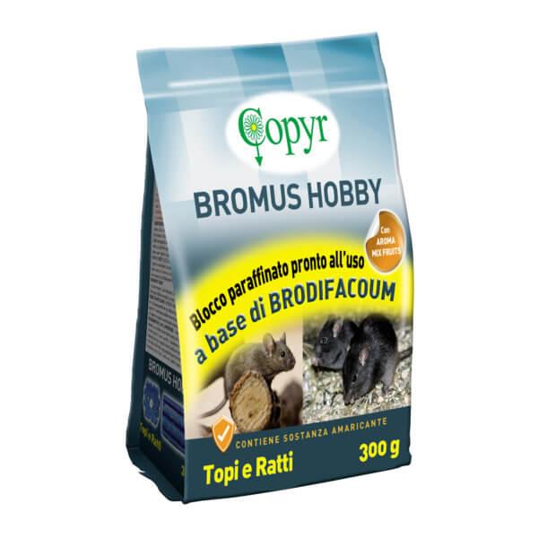 BROMUS HOBBY BLOCCO  PARAF. 300 G 25ppm | Copyr