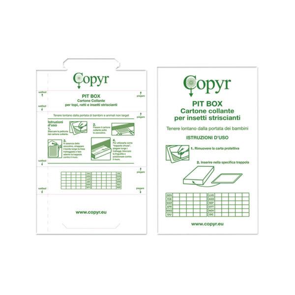 PIT-BOX TRASLUCIDO CON MONITORAGGIO BLATTE-1 | Copyr