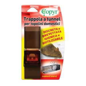 TRAPPOLA A TUNNEL PER TOPI | Copyr