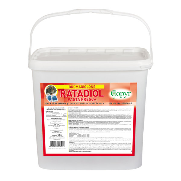 RATADIOL PASTA 5  Kg SECCHIO PROF. 50ppm | Copyr
