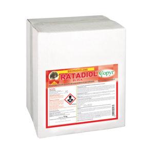 RATADIOL BLOCCO 15 Kg TRAINED PRO. 50 ppm | Copyr