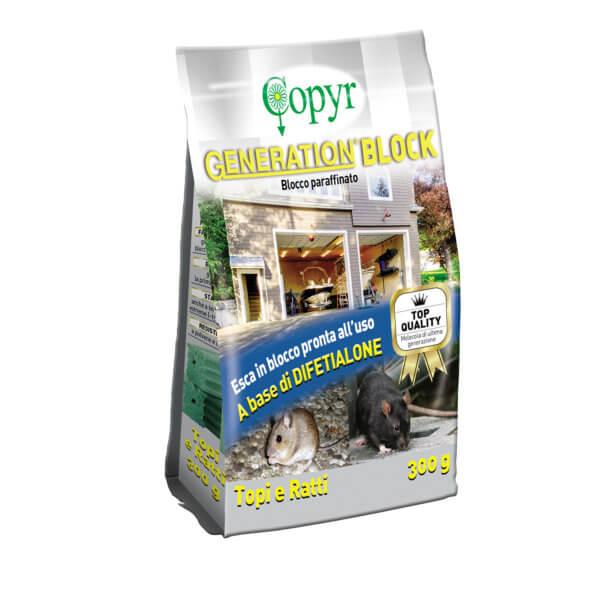 GENERATION BLOCK - BLOCCO PARAFFINATO 300 G | Copyr
