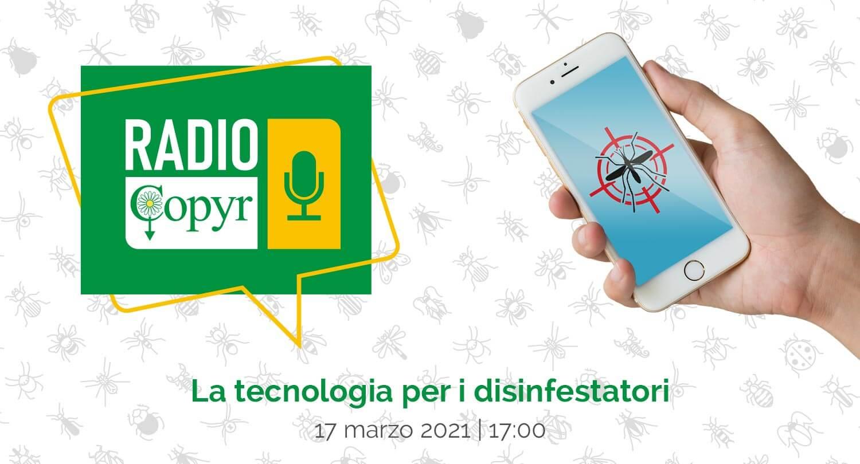 RADIO COPYR, un nuovo format per i professionisti della disinfestazione