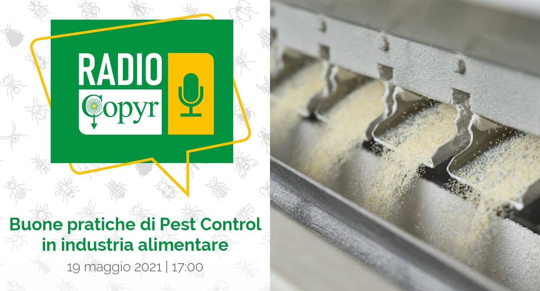 RADIO COPYR | La terza puntata è a tema industria alimentare