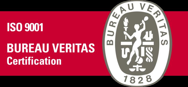 BUREAU VERITAS certificate 9001